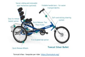 Adapted trikes