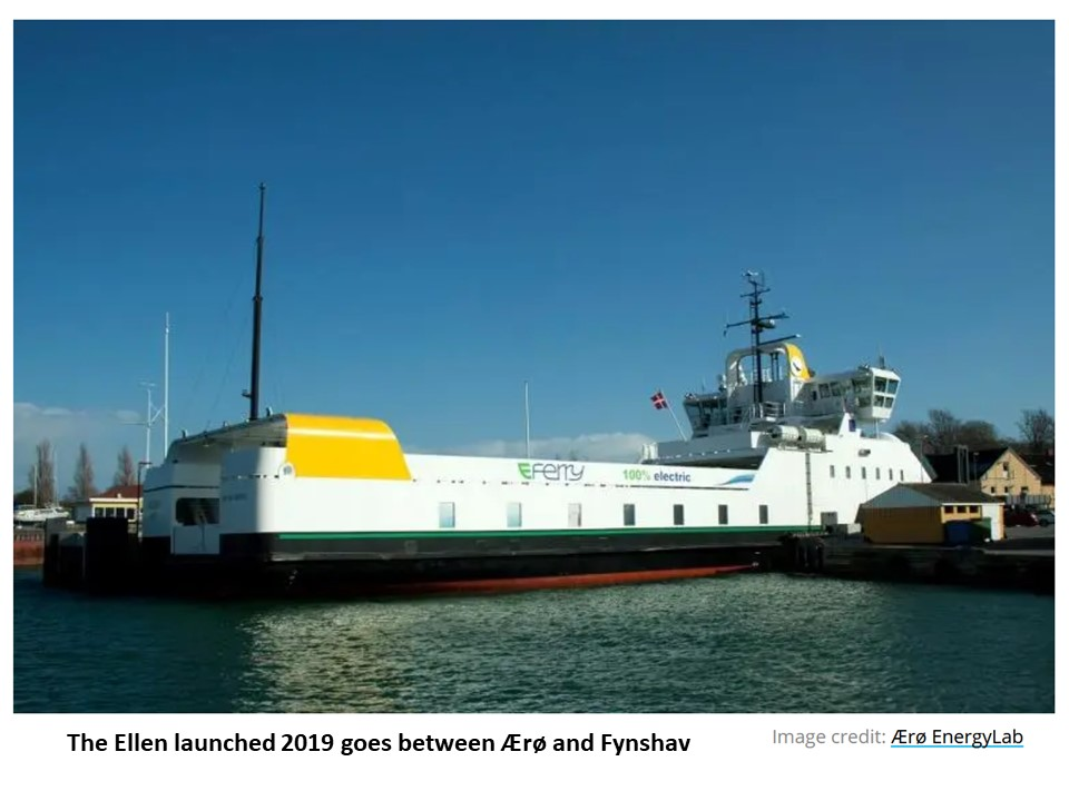 Danish electric ferry