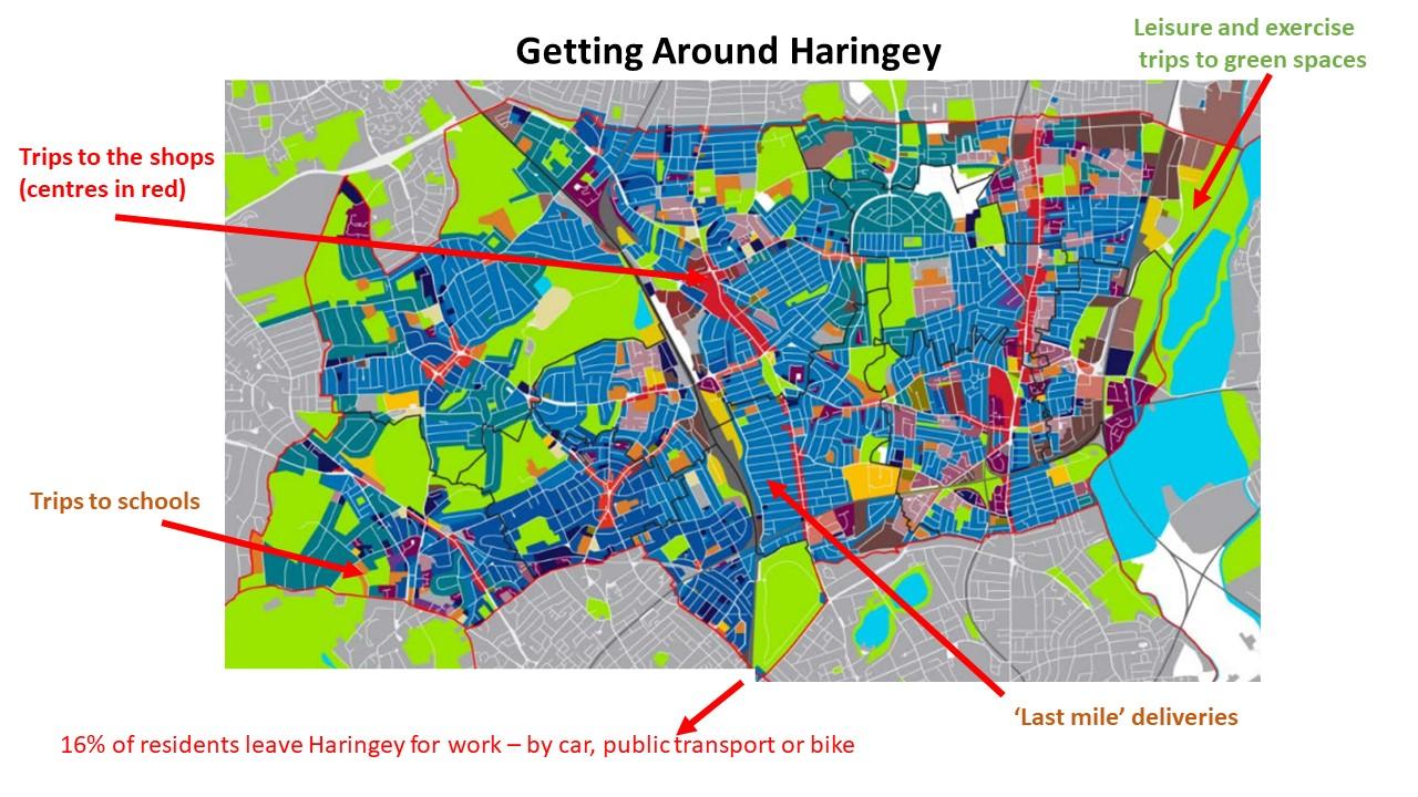 Getting around Haringey