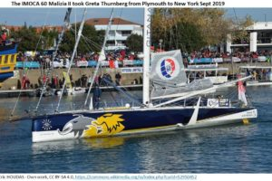 Malizia II Greta yacht