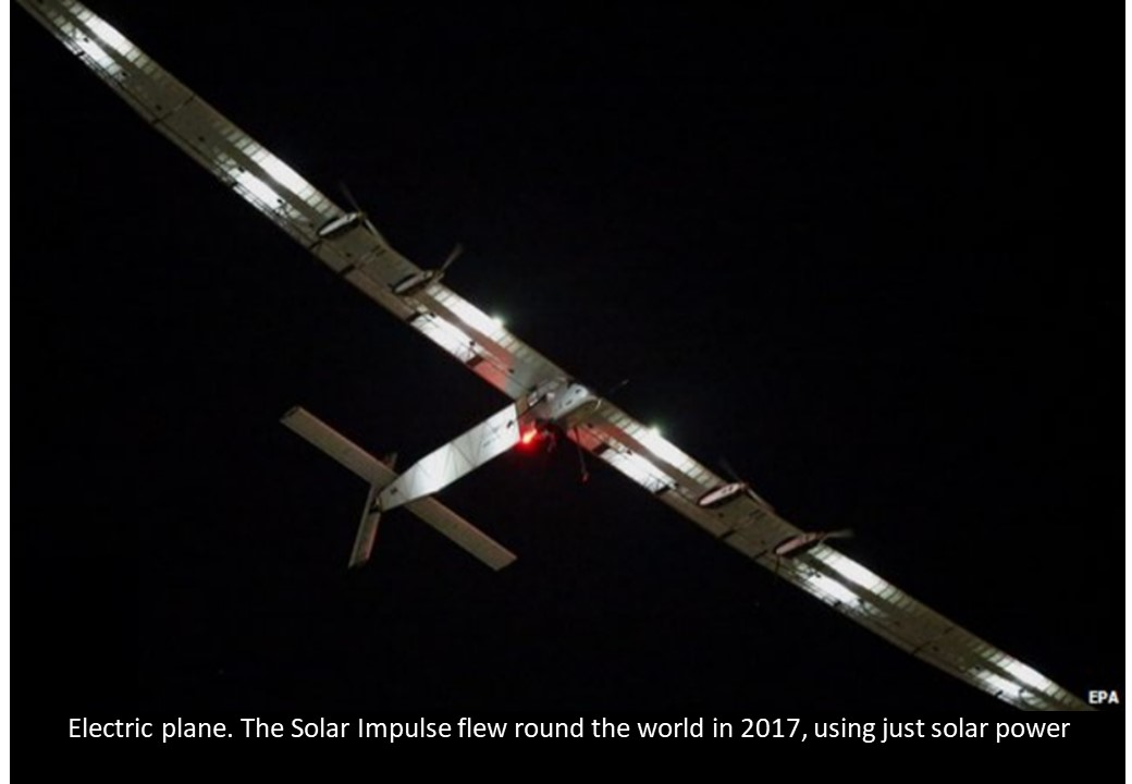 Solar Impulse electric plane
