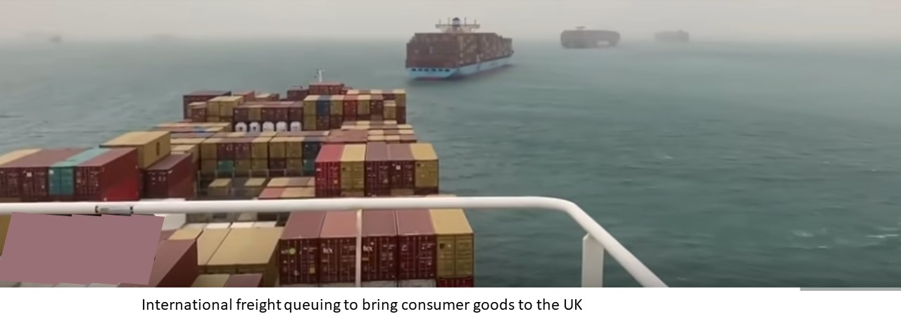 Suez shipping