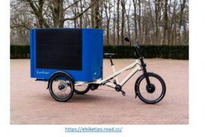 Sun Rider Solar Cargo bike