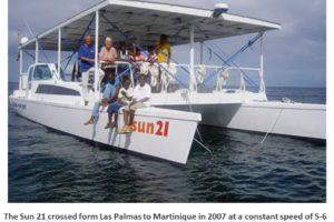 Sun21 Las Palmas to Martinique